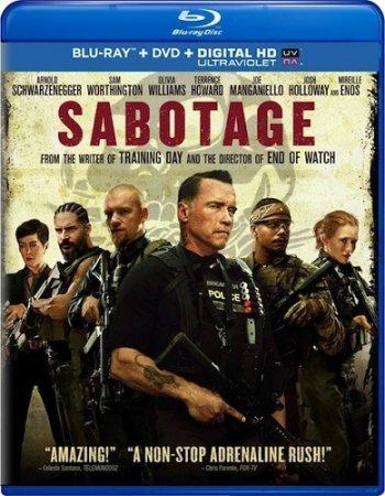 Саботаж / Sabotage (2014) BDRip-AVC